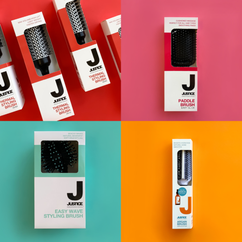 Pair Your Favourite JUSTICE Professional Brush With It